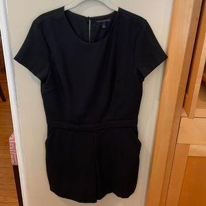 BR Romper Black Dressy Shorts Jumpsuit Onepiece